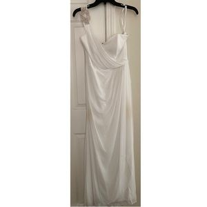 White Ballgown Dress